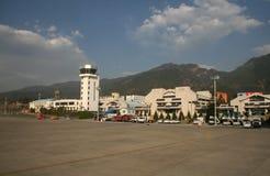 丽江机场,云南,中国 免版税库存图片