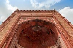 举世闻名的buland darwaza最大的被成拱形的门在世界上 库存图片