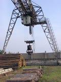 举起的crane2 免版税库存图片
