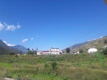 久姆拉,尼泊尔的美好的图象 库存照片