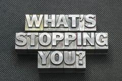 什么停止您bm 免版税库存图片