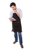 什么是为晚餐? 免版税库存图片