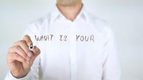 什么是您的最大的成就,在玻璃的人文字 股票视频