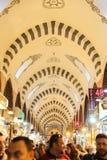 义卖市场伊斯坦布尔香料 免版税库存图片