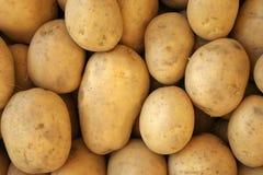 义卖市场土豆 库存图片