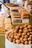 义卖市场在伊斯坦布尔 库存图片