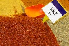 义卖市场埃及伊斯坦布尔加香料tr 免版税库存图片