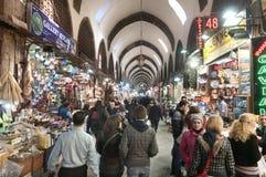义卖市场埃及伊斯坦布尔香料火鸡 免版税库存图片