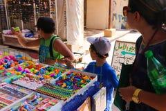 义卖市场用草本和香料在阿斯旺 库存图片