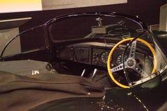 之一被创立的16,这1956年捷豹汽车XKSS由史蒂夫M只拥有 免版税库存图片