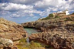 之家在Majorca 免版税库存照片