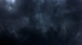 乌云背景 免版税库存照片