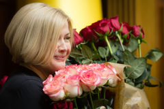 乌克兰伊琳娜Gerashc的Verkhovna Rada的第一副主席 图库摄影
