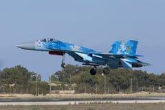 乌克兰侧面部队着陆 库存图片