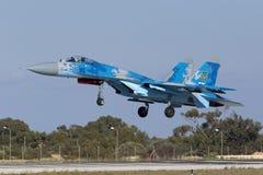 乌克兰侧面部队着陆 库存照片