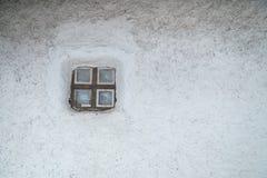 乌克兰全国房子老窗口  库存照片