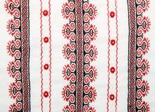乌克兰刺绣细节  库存照片