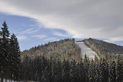 乌克兰喀尔巴阡山脉 库存照片