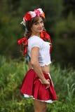 乌克兰女孩 图库摄影