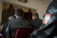 乌克兰官员 免版税库存图片