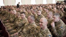 乌克兰官员 免版税图库摄影