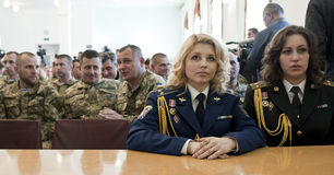 乌克兰官员 免版税库存照片