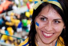 乌克兰对在欧元的法国比赛2012 2012年 库存照片
