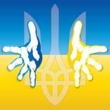 乌克兰徽章 库存照片