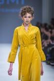乌克兰时尚星期在Kyiv,乌克兰 免版税库存照片