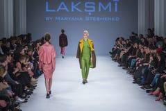 乌克兰时尚星期在Kyiv,乌克兰 库存照片