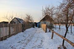 乌克兰村庄 免版税库存照片
