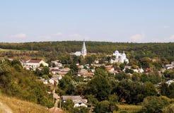 乌克兰村庄Strusiv风景  库存图片