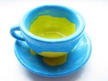 乌克兰杯子 库存照片