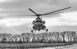 乌克兰武力的空降编队 库存照片
