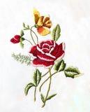 乌克兰民间刺绣、民间艺术和工艺,手工制造 库存照片