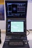 乌克兰生产现代航空电子学  免版税库存图片