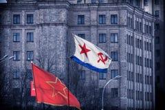 乌克兰的俄国占领 免版税库存图片