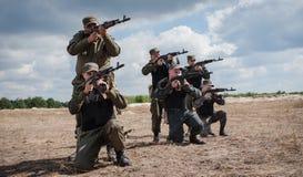 乌克兰的军队 免版税图库摄影