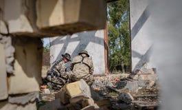 乌克兰的军队 图库摄影