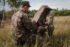 乌克兰的军队 库存图片
