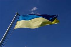乌克兰的旗子 免版税库存图片