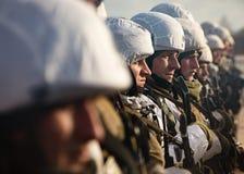 乌克兰的武力的突击队 免版税库存照片