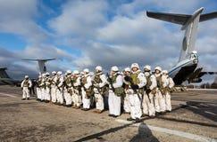 乌克兰的武力的突击队 库存照片