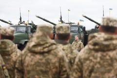 乌克兰的武力 免版税图库摄影