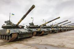 乌克兰的武力 免版税库存照片