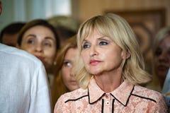 乌克兰的议会的伊琳娜卢岑科议员 免版税库存照片