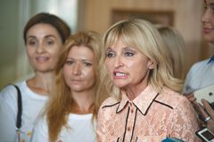 乌克兰的议会的伊琳娜卢岑科议员 库存照片
