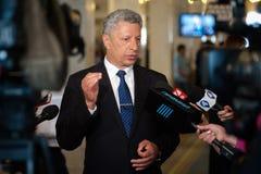 乌克兰的议会的Yuriy Boyko议员 图库摄影