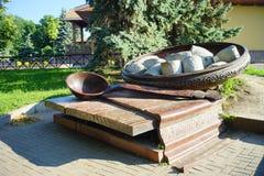 乌克兰的建筑学 波尔塔瓦市 图库摄影