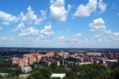 乌克兰的建筑学 波尔塔瓦市 库存照片